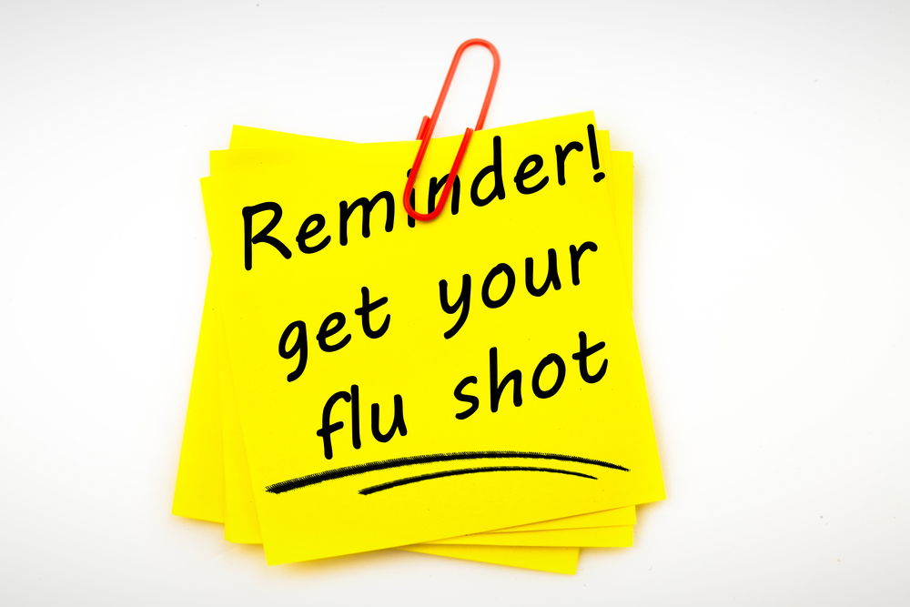 Get Your Flu Shot…..in NOVEMBER